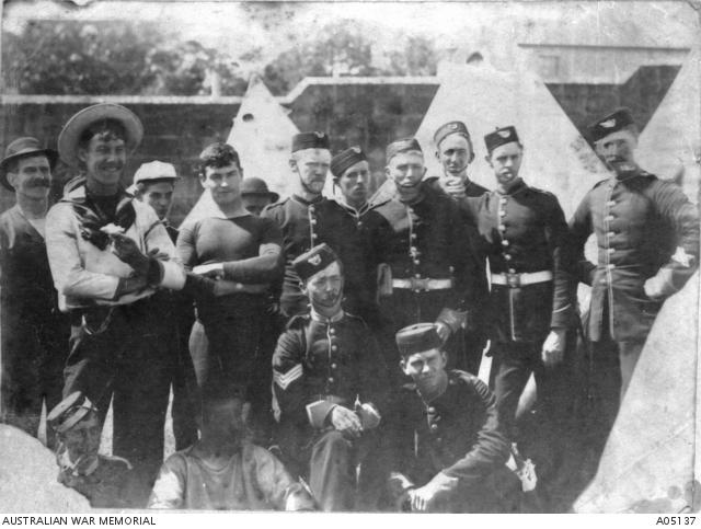 NSW contingent to Khartoum 1885